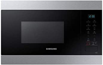 Microondas Grill Empotrable Samsung MG22M8074AT – Microondas Integrable Inox – 22 litros – 850 W