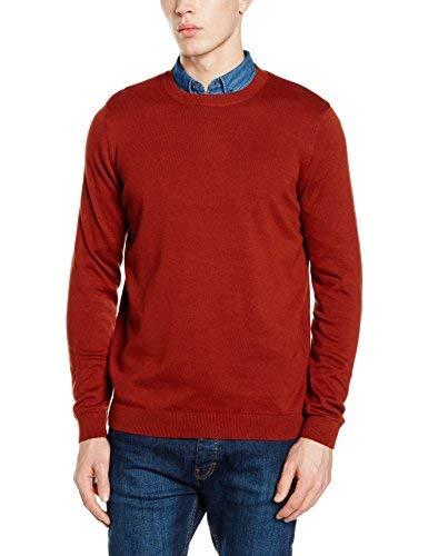 New Look 3722608 Camiseta, Orange (Burnt Orange), XS para Hombre
