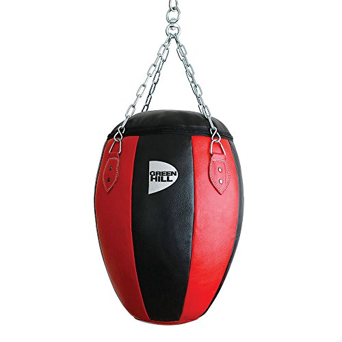 GREEN HILL Palla Torpedo Sacco MONTANTI Boxe Punching Bag Pelle Pugilato