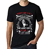 One in the City Hombre Camiseta Vintage T-Shirt Basset Hound Dog Negro Profundo