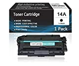 (1-Pack,Black) 14A   CF214A Toner CartridgeCompatibleforHPPrinter MFP M725 Series 700 Printer M712 Series M725 MFP Series Enterprise 700 Printer M712xh Printers Toner Cartridge,Sold by AcToner.