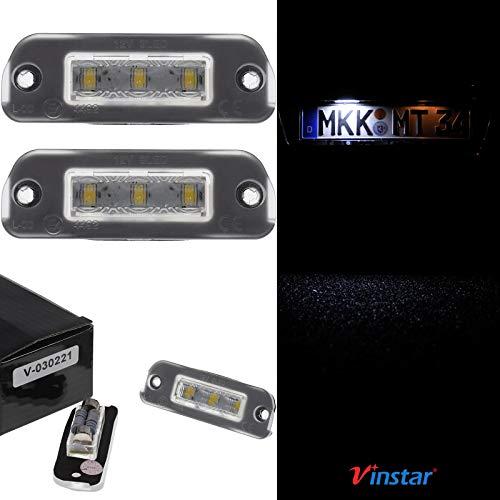 Preisvergleich Produktbild Vinstar LED Kennzeichenbeleuchtung für Diesel Mercedes Benz ML R W164 W251 X164