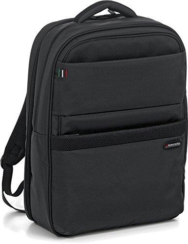 Backpack Laptop 17'/Tablet Holder 10' Black - Nero