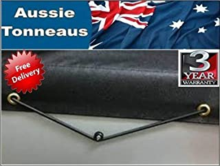 Tray Tonneau Cover To Suit Triple M Tray 1650 X 1792, Rope Style. Note: Measurements are Internal