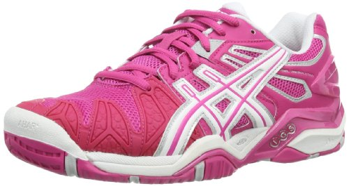 Asics GEL-RESOLUTION 5 Damen Tennisschuhe, Pink (pink / weiÃY), 42 EU