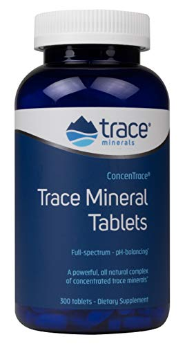 Trace Minerals ConcenTrace Trace Mineral Tablets - 300 Tabs