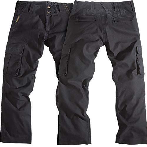 Rokker Motorrad Jeans Motorradhose Motorradjeans Black Jack Jeans schwarz 40/34, Herren, Chopper/Cruiser, Ganzjährig, Textil