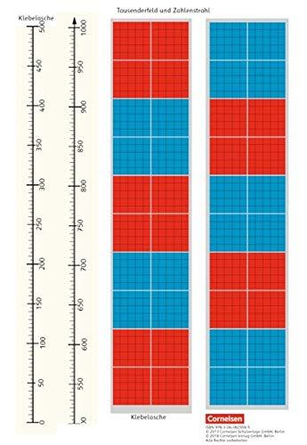 eins zwei drei - Mathematik: 3. Schuljahr - Tausenderfeld und Zahlenstrahl: Kartonbeilagen. 10 Stück im Beutel (eins-zwei-drei - Mathematik-Lehrwerk für Kinder mit Sprachförderbedarf / Mathematik)