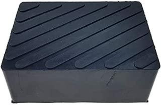 KKmoon Cuscinetto adattatore in gomma per cric e attrezzi di sollevamento di automobile per evitare danni al davanzale per BMW
