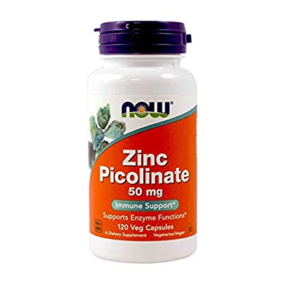 NOW Foods - Zinc Picolinate 50 mg.