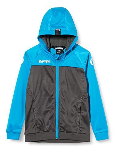 Kempa Prime Multi Jacket, Giacca da Pallamano con Cappuccio da Uomo, Antracite/Blu (Antracita Azul), XL