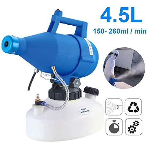 BCQ Intelligente Elektrische ULV Fogger Sprayer, 4,5 L Ultra Low Volume Vernebler, Geeignet für Garten, Krankenhaus und öffentliche Plätze