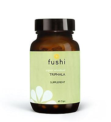 Fushi Organic Vegetable Capsules, Triphala, 500 mg, 60-Count
