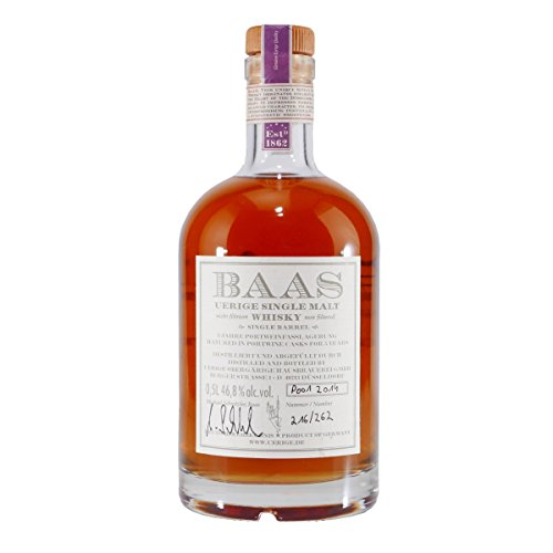 BAAS UERIGE Single Malt Whisky Portweinfass 5 Jahre
