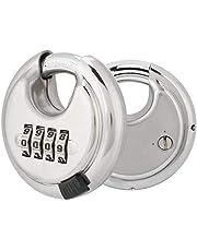 Roestvrijstalen veilig Master Lock-hangslot, duurzaam hangslot, voor fietsgereedschapskist Gymkoffer