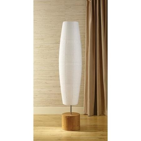 Mainstays Floor Lamp with Bamboo Finish
