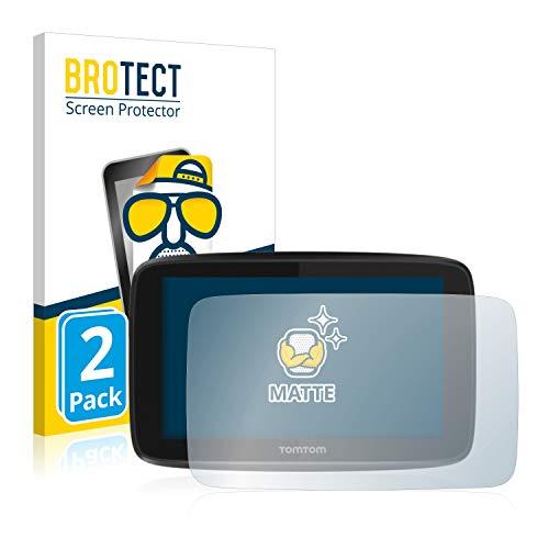 BROTECT 2X Entspiegelungs-Schutzfolie kompatibel mit Tomtom GO 5200 Bildschirmschutz-Folie Matt, Anti-Reflex, Anti-Fingerprint