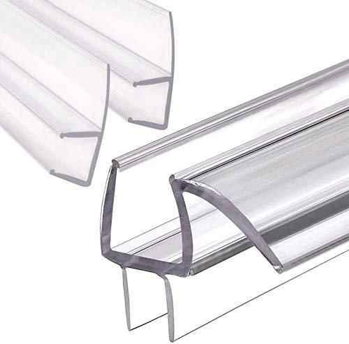 MAGZO Glass Shower Door Seal Strip Set