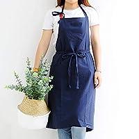 STAWEE 2PCS / LOT綿つなぎショップの服花屋ベーキングエプロン エプロン 女性のエプロン キッチンエプロン (Color : Blue, UnitCount : 2PCS)