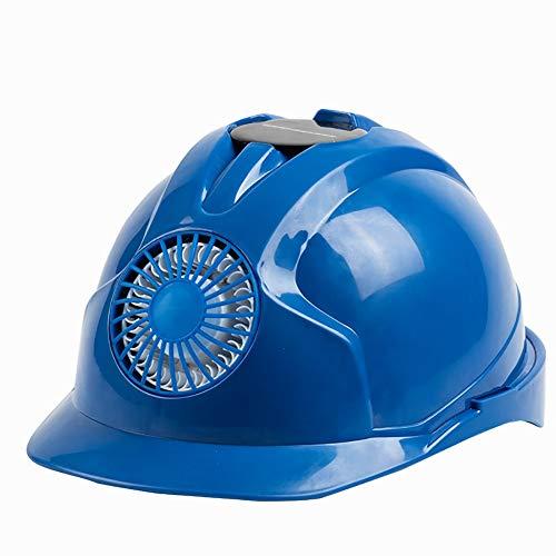 ZQYB Worker Harde Hoed Met Ventilator, Full Brim Harde Hoed Helm Ventilatie Isolatie, Anti-statische, Arbeidsbescherming Helm Elektricien Bouw Bump Cap