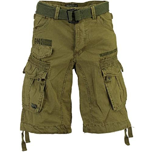 Geographical Norway Herren Cargo Short People, 3XL, Mastic