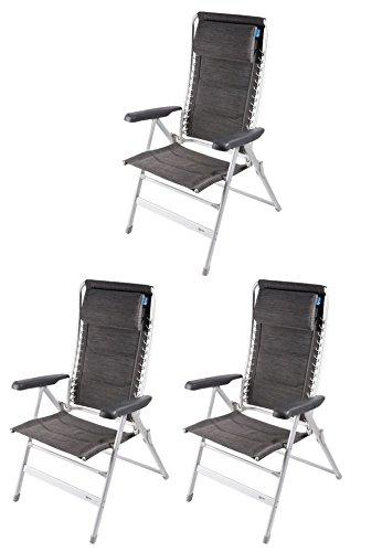 Kampa 3x Lounge Stuhl–Modena
