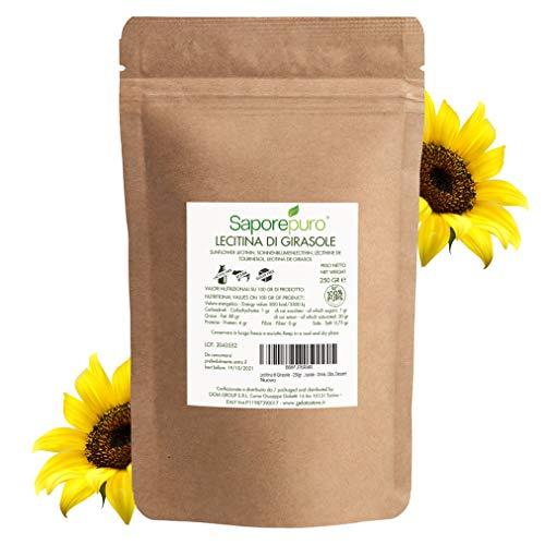 Sonnenblumen Lecithin Pulver - 250 GR | Sunflower Lecithin