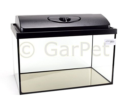 GarPet Aquarium rechteckig 50x30x30 + Abdeckung LED
