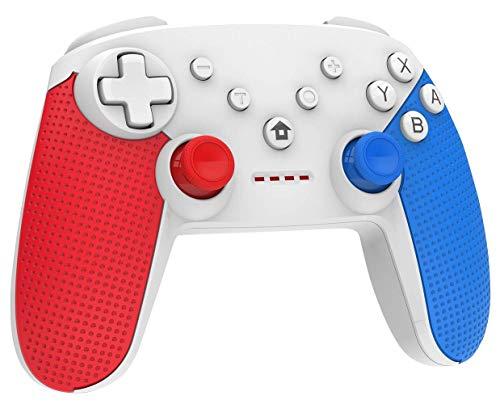 Preisvergleich Produktbild Nintendo Switch Controller,  Wireless Controller für Nintendo Switch,  Switch Pro Controller Gamepad mit Double Shock und Turbo Funktion Eingebaut Six-axis Gyro