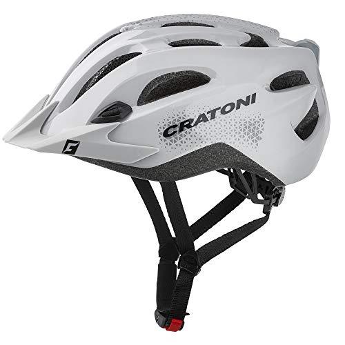 Cratoni Fahrradhelm All Mountainbikehelm C-Stream Tourenhelm (grau, XXL (59-65 cm))