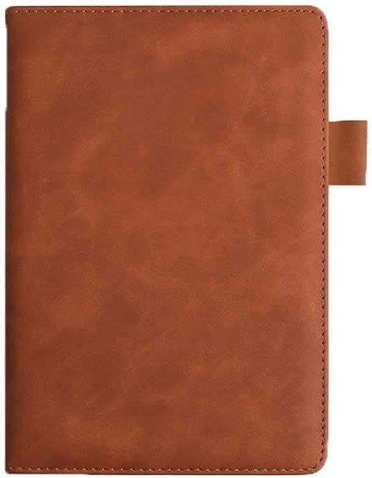 ZHANGCHI 360Pages Classic Vintage Faux Leather Memo Colorado Springs Mall Notebook Fresno Mall Not