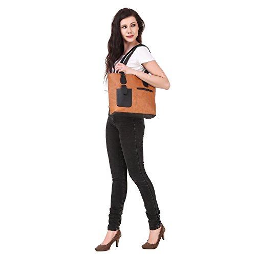 Fiona Trends women handbags (BROWN)