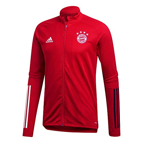 adidas Herren 20/21 FC Bayern Track Jacket Trainingsjacke, Fcbtru/Black, M
