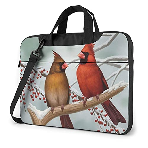 Bolsa para portátil de 13-15,6 Pulgadas Pájaros lindos Bolso de Hombro para portátil Bolso de Hombro Elegante Ordenador Portátil