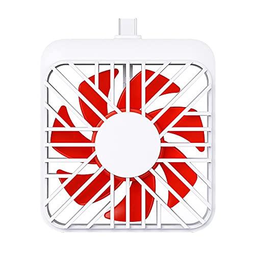 Mini ventilador de aire, base portátil, refrigerador, ventilador del teléfono móvil, refrigerador silencioso portátil del teléfono móvil