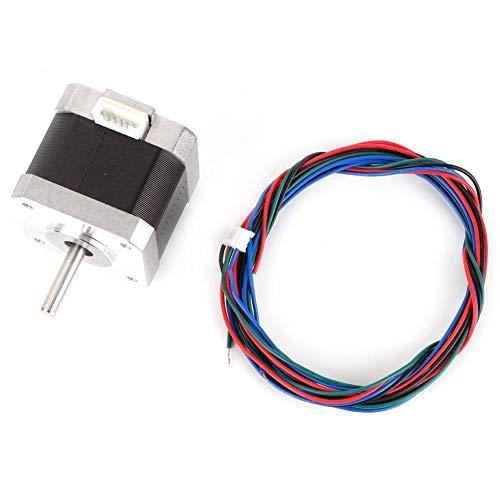24V/1.5A Nema 17 Motore passo-passo 2 fasi Stampante 3D Motore 0.4 NM 1.8 ° Controllo industriale Motore passo-passo Forniture elettriche Accessori Cavo Cavo