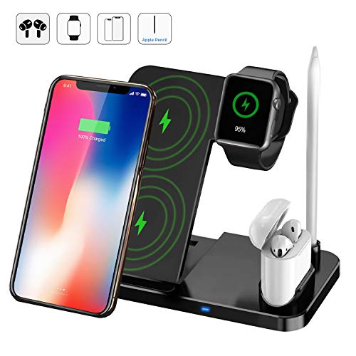 TaoHorse Wireless Charger Station, 4 in