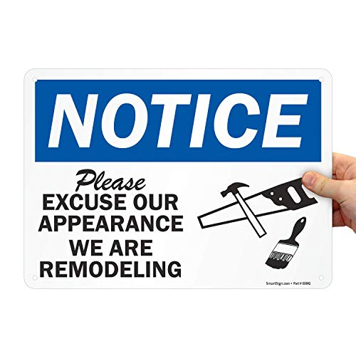 Top 10 best selling list for remodeling signs
