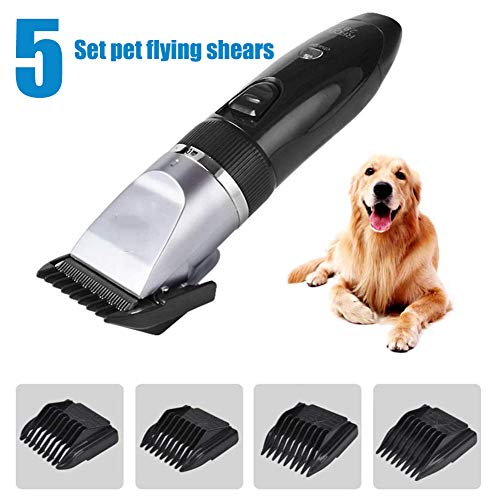 High Power Charging Pet Dog Grooming Kit, Quiet Heavy Duty Electric...