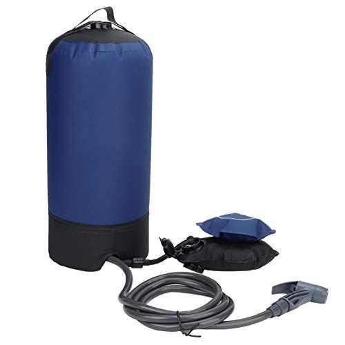 KUIDAMOS Bolsa de Agua portátil para Acampar portátil Bolsa de Ducha Ligera y Duradera para Acampar al Aire Libre para Senderismo, Playa, duchas al Aire Libre