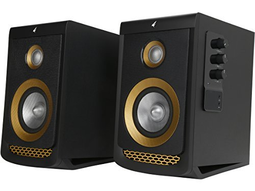 Rosewill Computer Speakers for Music, Gaming, Movies and Other Entertainment, Multimedia Gaming Speaker System, 2.0 Channel Woofer & Tweeter, Computer Speakers Volume Control, Studio Audio Monitors