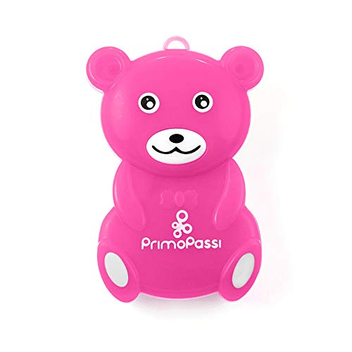 Primo Passi Baby Portable Ultrasonic Clip On Mosquito Repellent I Insect Repeller for Babies, Kids and Adults I Indoor and Outdoor I Baby Mosquito Repellent (Pink)