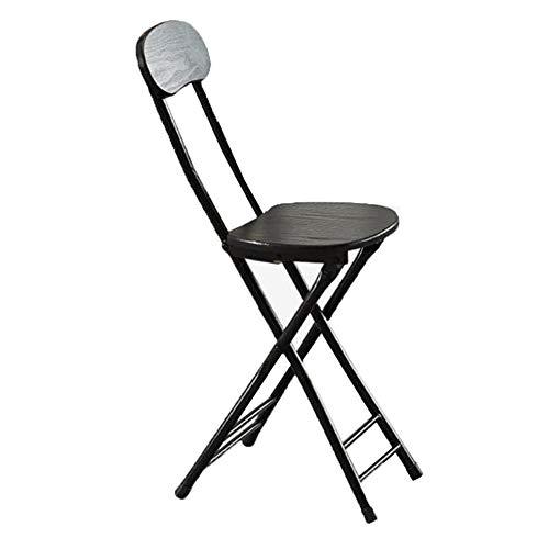 QIDI Chaise Pliante, Chaise de Salle à Manger, chaises Pliantes, Chaise d'extérieur, Chaise de conférence, Chaise d'ordinateur, simplicité Moderne Facile à Transporter - Deux Charges