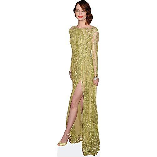 Celebrity Cutouts Emma Stone (Yellow Dress) Pappaufsteller lebensgross