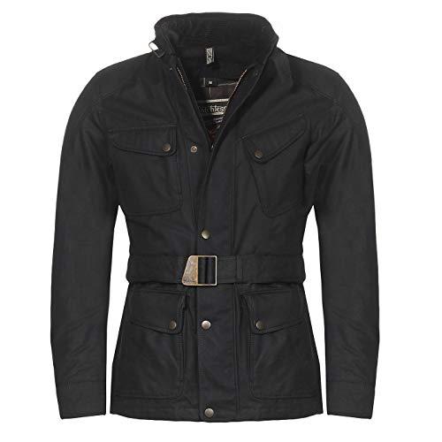 Matchless Herren Winter Biker Jacke PM ROADFARER Black 410001 (L)