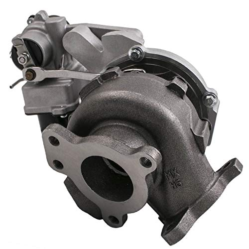 XXYHYQHJD Twin Turbo Turbolader for L, A, N, D, C, R, U, I, S, E, R 17208-51010/17201-51020 Turbinen-Turbo-Komprimier-Kompressor-Supercharger RHV4;Vb23. Turbolader