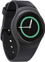 Samsung Gear S2 SM-R720 4GB Wi-Fi, Dust and Water Resistant Smartwatch - Dark Grey (Renewed)