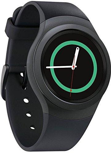 Samsung Gear S2 SM-R720 - Smartwatch da 4 GB, Wi-Fi, resistente alla polvere e all'acqua, colore: Grigio scuro (Ricondizionato)