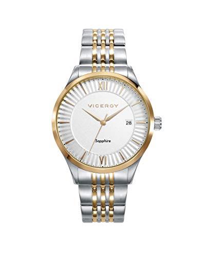 Reloj Viceroy Dress Bicolor Plateado Dorado Mujer 471224-03