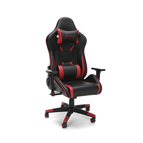 RESPAWN 120 Racing Style Gaming Chair, in Red chair gaming red